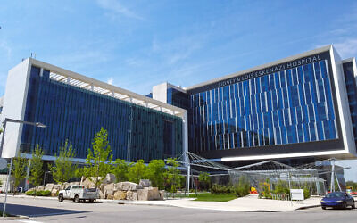 The Sidney and Lois Eskenazi Hospital in Indianapolis. (Momoneymoproblemz via Wikimedia Commons)