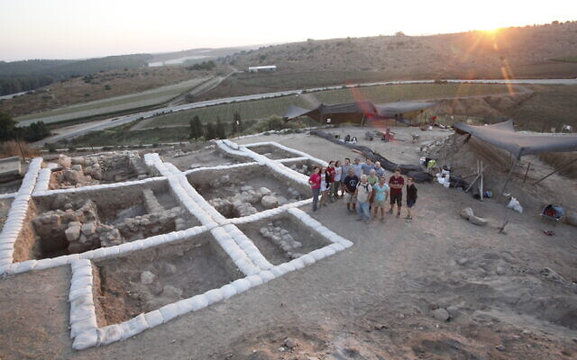 Temple at Tel Lachish (Courtesy of the Fourth Expedition to Lachish)
