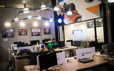 Illustrative: Offices of the Jerusalem Venture Partners tech investment firm in Jerusalem, February 18, 2019. (Hadas Parush/Flash90)