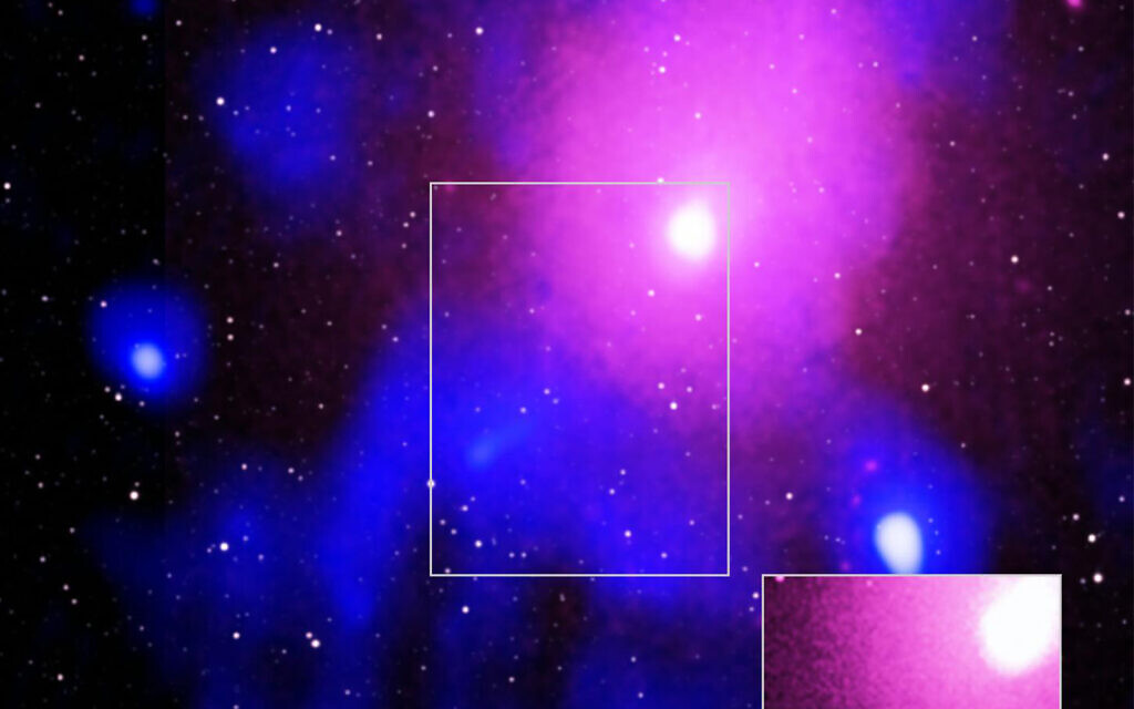 Astronomers discover biggest known explosion in the history of the universe - The Times of Israel