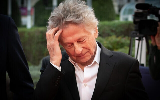 French-Polish director Roman Polanski stands on the red carpet of the 45th Deauville US Film Festival, in Deauville, northern France, September 7, 2019. (Lou Benoist/AFP)