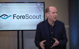 ForeScout CEO Michael DeCesare during an interview with CNBC. (YouTube screenshot)