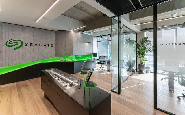 Seagate's Lyve Labs innovation center in Tel Aviv. (Courtesy Seagate Technology)
