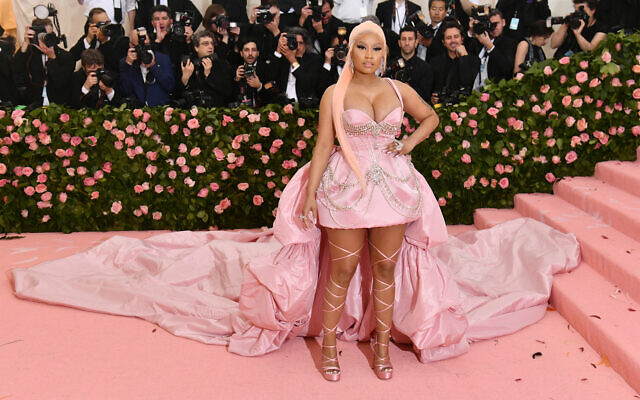 Nicki Minaj attends The Metropolitan Museum of Art's Costume Institute benefit gala, May 6, 2019, in New York. (Photo by Charles Sykes/Invision/AP)