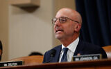 Rep. Ted Deutch, D-Fla., speaks as the House Judiciary Committee hears investigative findings in the impeachment inquiry of US President Donald Trump, Dec. 9, 2019, on Capitol Hill in Washington. (AP Photo/Alex Brandon)