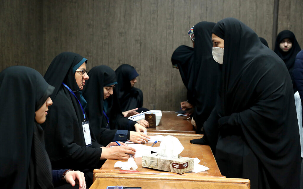 Polls close in Iranian parliament elections favoring conservatives