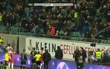 Fans of German soccer club Preußen Münster get man removed from stadium for racist abuse, February 14, 2020 (Screen grab/Twitter)