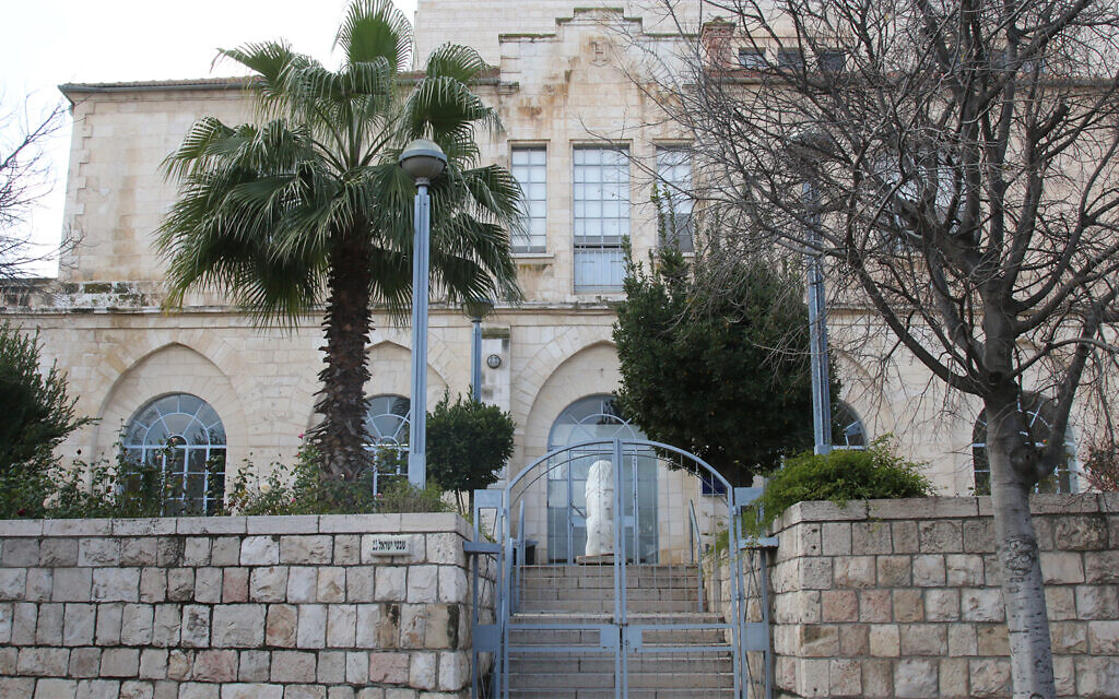 The former Russian consulate, built on a lot bought from Turkish landowners in 1858. (Shmuel Bar-Am)