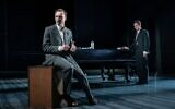 Luke Thallon (left, as Leo) and Sebastian Armesto (Nathan) in Tom Stoppard's Leopoldstadt (Marc Brenner)