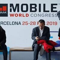 Attendees at Mobile World Congress in Barcelona in 2019 (YouTube Screenshot)
