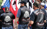 """Illustrative: Hundreds of white nationalists, neo-Nazis and members of the """"alt-right"""" march in Charlottesville, Virginia, August 2017. (Chip Somodevilla/Getty Images via JTA)"""