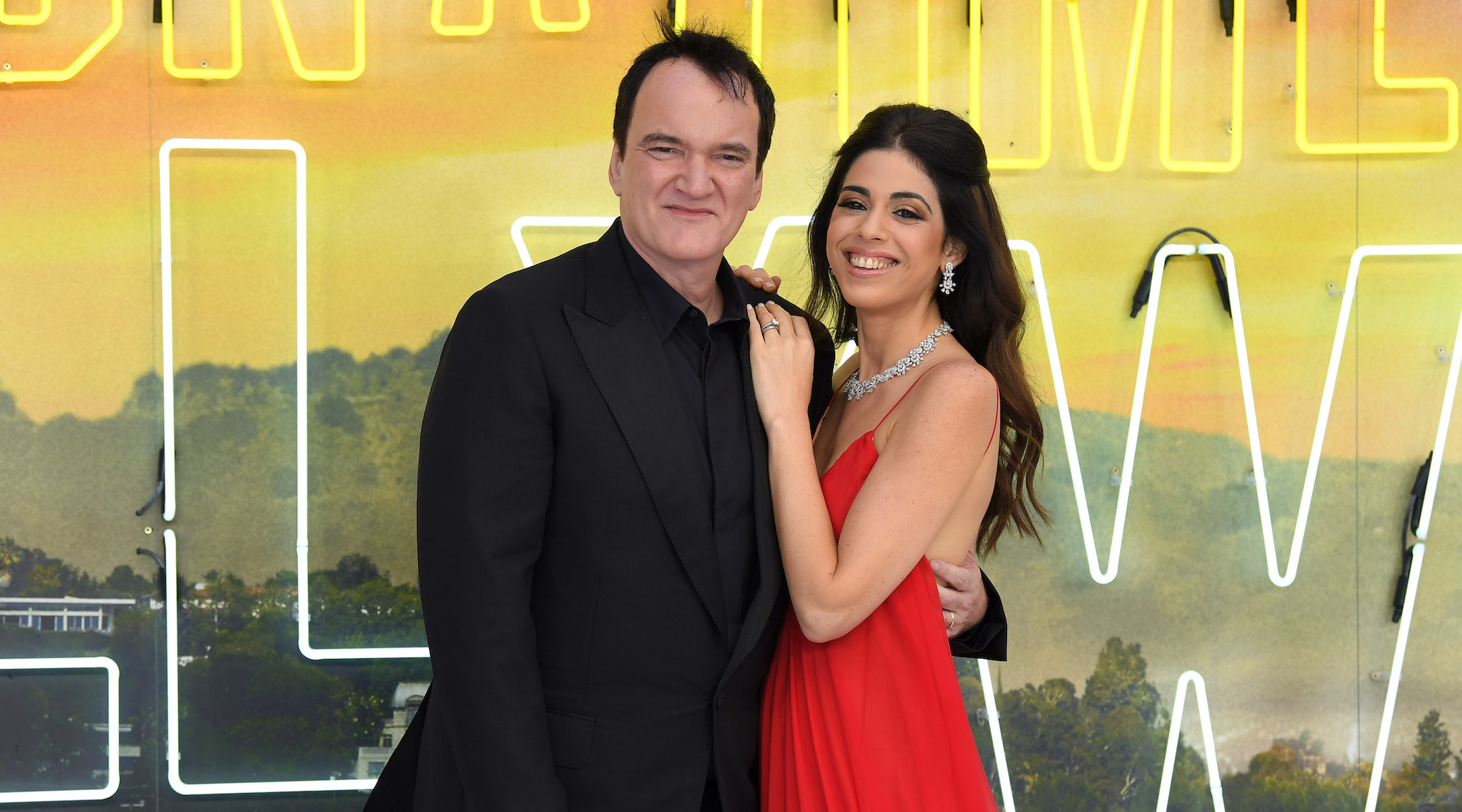 Quentin Tarantino's wife gives birth to couple's first child