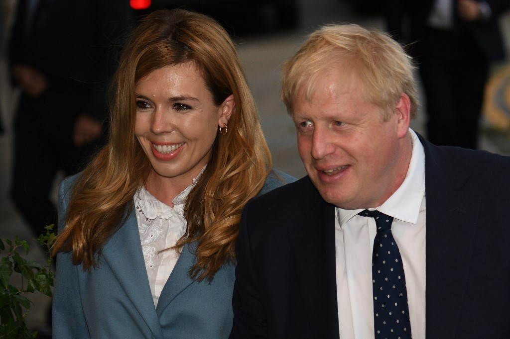 British PM Johnson may become father again