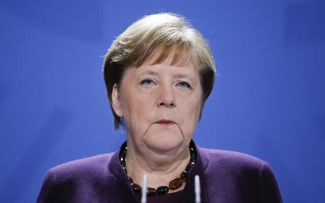 Chancellor Merkel on coronavirus pandemic