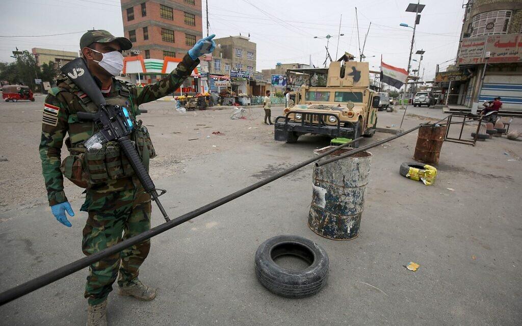 Iraq suspends, fines Reuters news agency over virus report