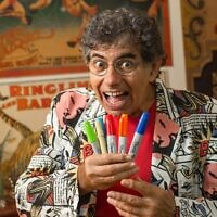 Daniel Azulay, an influential Brazilian children's entertainer and educator. (Daniel Azulay Facebook via JTA)