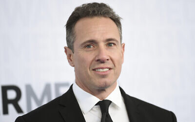CNN news anchor Chris Cuomo at the WarnerMedia Upfront in New York, May 15, 2019. (Photo by Evan Agostini/Invision/AP, File)