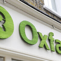 The exterior of an Oxfam store in London (Nick Ansell/PA via AP, File)