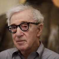 Film director Woody Allen attends a press conference at La Scala opera house, in Milan, Italy, July 2, 2019. (Luca Bruno/AP)