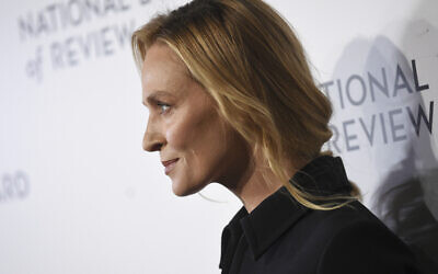 Actress Uma Thurman attends the National Board of Review Awards gala at Cipriani 42nd Street on Wednesday, Jan. 8, 2020, in New York. (Photo by Evan Agostini/Invision/AP)