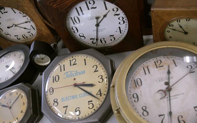 Antique clocks (AP Photo/Charles Krupa)