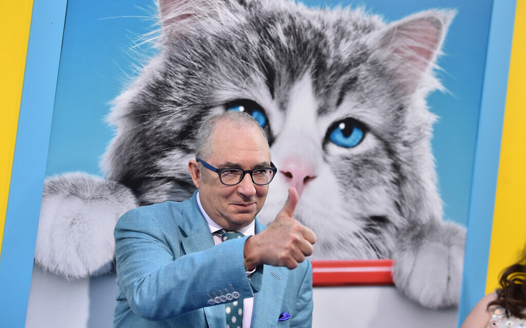 Barry Sonnenfeld arrives at the LA premiere of 'Nine Lives' at TCL Chinese Theatre on August 1, 2016, in Los Angeles. (Photo by Jordan Strauss/Invision/AP)