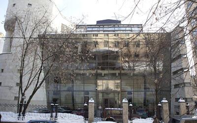 The Bolshaya Bronnaya Synagogue in Moscow. (Wikimedia Commons/Sergeiy Estrin)