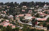 Kiryat Ye'arim, a small town near Jerusalem. June 29, 2010. (Nati Shohat/Flash90)