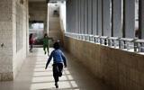 Illustrative: Arab and Israeli children are seen at the Max Rayne Hand in Hand school for bilingual education in Jerusalem, February 14, 2012. (Kobi Gideon/Flash90/File)