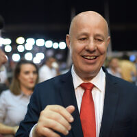Likud MK Tzachi Hanegbi on September 17, 2019. (Gili Yaari/Flash90)