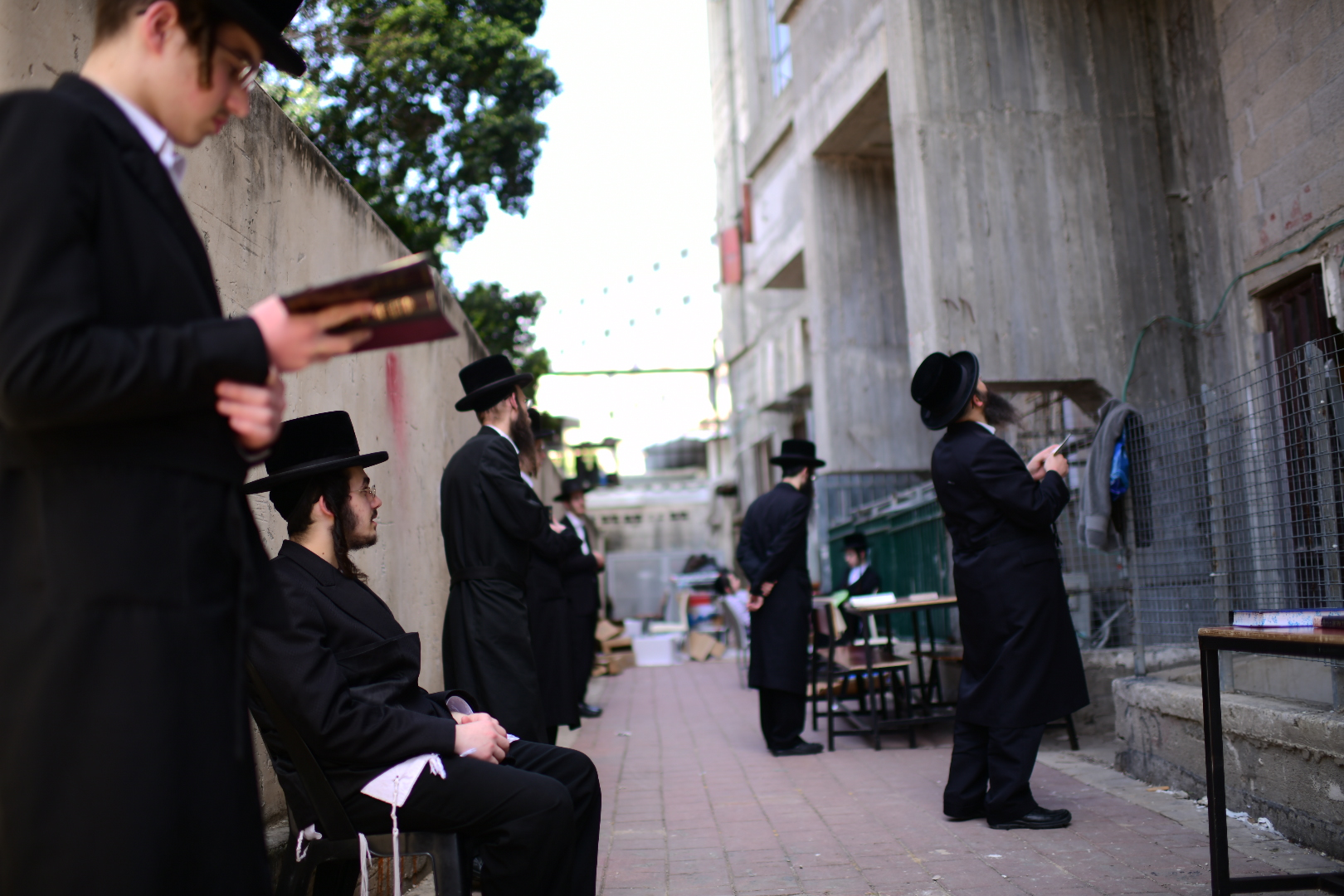 Israel's ultra-Orthodox town badly affected by coronavirus sealed off