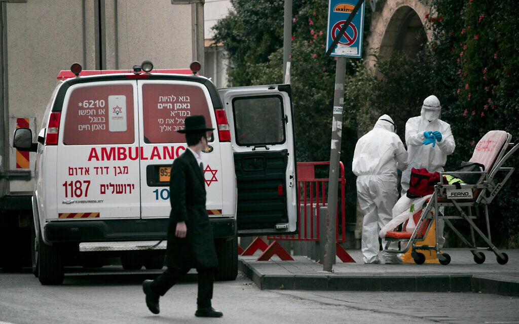 Coronavirus cases in Israel rise to 3,619 with 54 people in serious condition