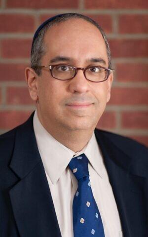 Rabbi Neil Loevinger, director of spiritual care and ethics coordinator at Vassar Brothers Medical Center in Poughkeepsie, New York. (Courtesy Rabbi Neil Loevinger)