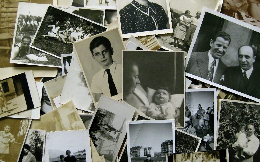 Ullmann family photos (Elisabeth Åsbrink)