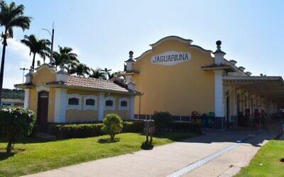 Jaguariúna, a city in southern Brazil, was the scene of an anti-Semitic attack on a 57-year-old Jewish man. (Courtesy of the Jaguariuna municipality via JTA)