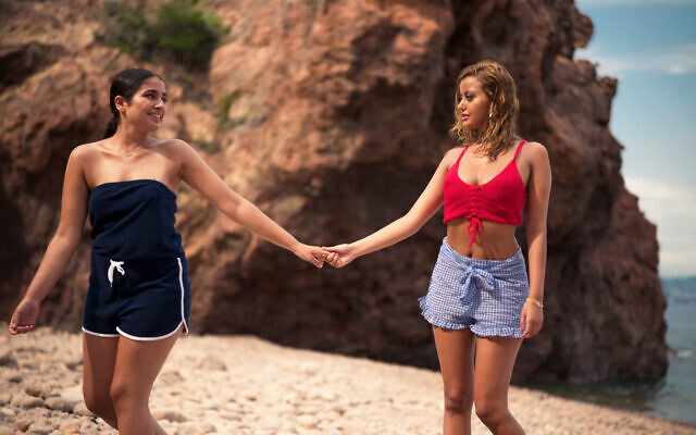 Mina Farid (left) and Zahia Dehar in 'An Easy Girl,' written and directed by Rebecca Zlotowski. (Courtesy)