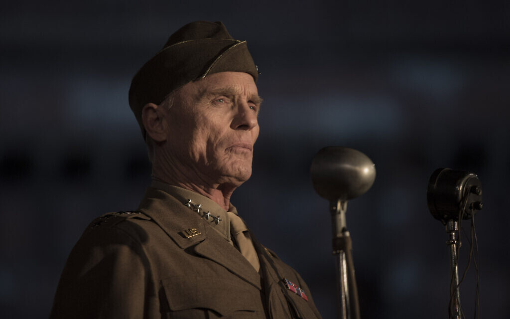 Ed Harris as George S. Patton in 'Resistance.' (Courtesy IFC Films)