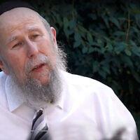 Rabbi Yehuda Yaakov Refson. (Courtesy of Chabad.org)