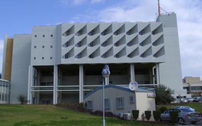 Poriya Hospital in Tiberias. (Courtesy)