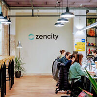 Zencity offices in Tel Aviv. (courtesy/Zencity)