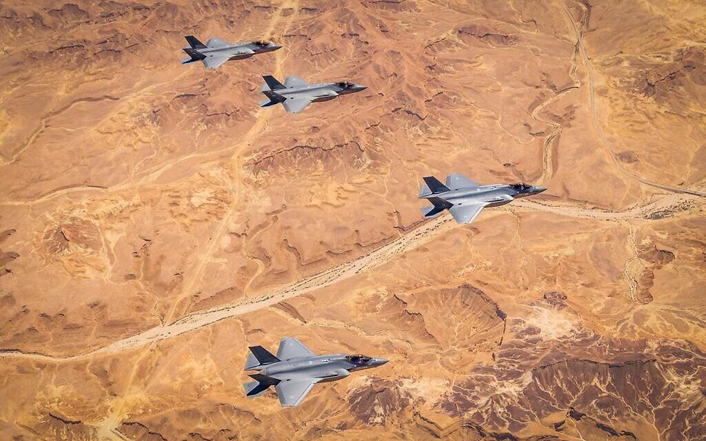 Gantz accuses Netanyahu of hiding UAE F-35 talks from Israeli defense officials