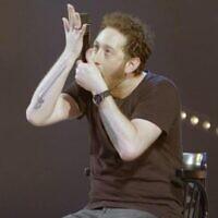 Comedian Jonathan Barak (courtesy)