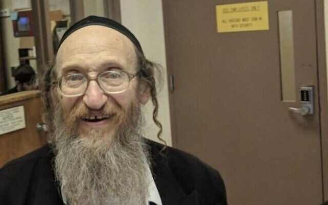 Josef Neumann, 72, who was seriously injured during a December 29, 2019, machete assault in Monsey, New York, and died three months later (courtesy)