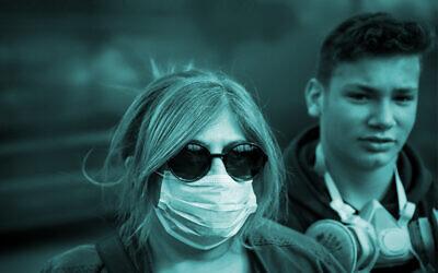 Coronavirus in Israel (Photo: Flash90)