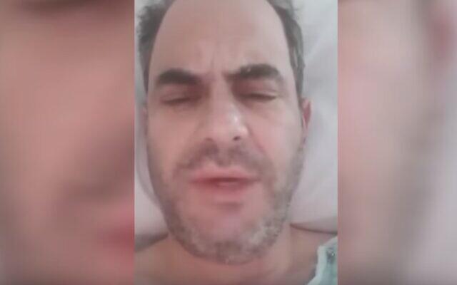United Hatzalah director Eli Beer (YouTube screenshot)