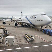 [Illustrative] An El Al Israel Airlines Boeing 747 at the John F. Kennedy International Airport (Photo: iStock/Maciej_Bledowski)