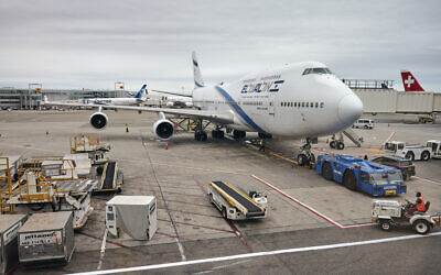 [Illustrative] An El Al Israel Airlines Boeing 747 at the John F. Kennedy International Airport (Photo: iStock/Maciej_Bledowski)