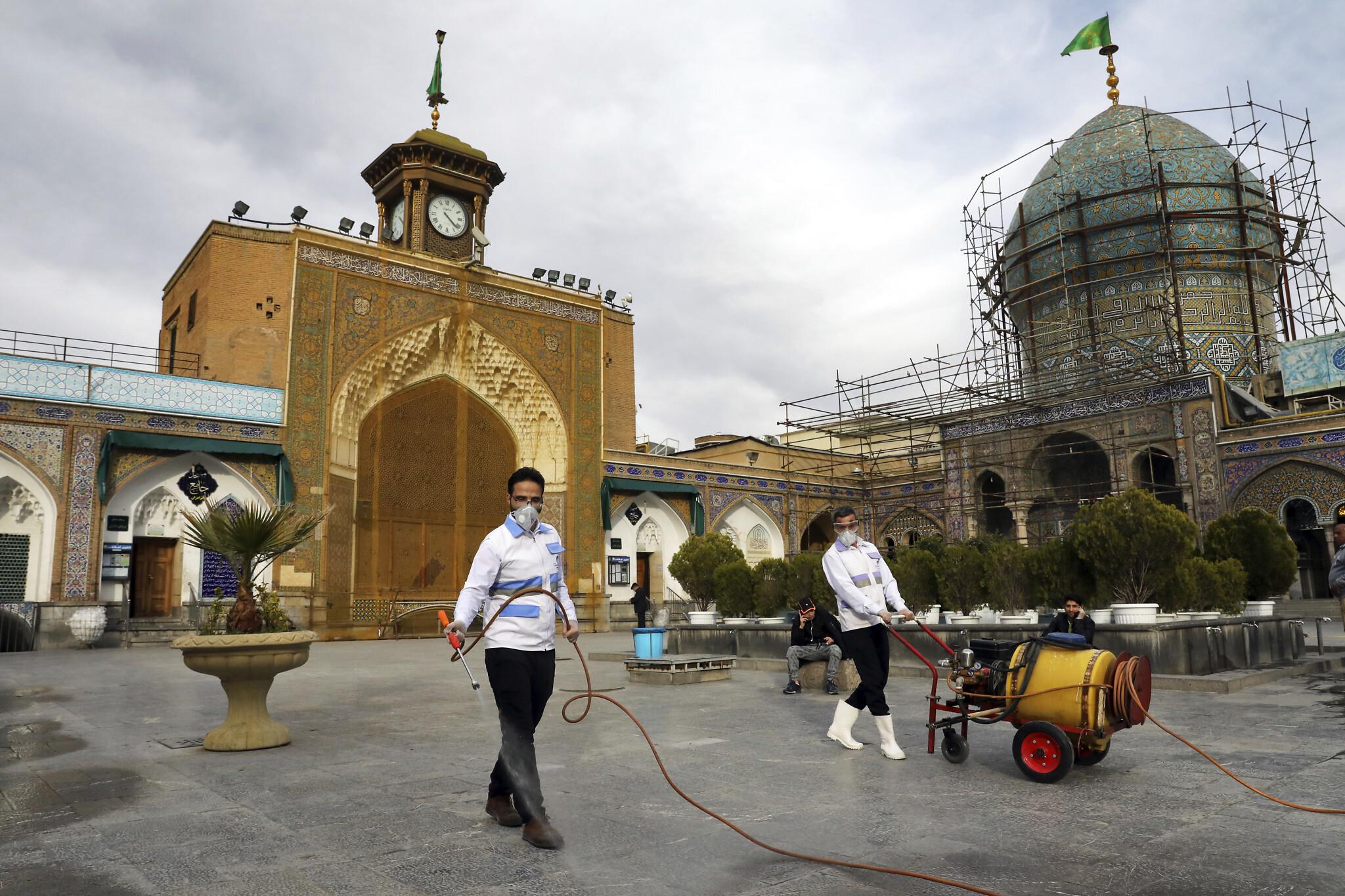 Iran virus toll jumps to 145