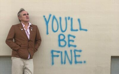 English artist Morrissey (Courtesy Donniie Knutson)