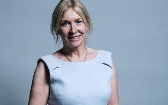 Nadine Dorries in an official portrait. (Chris McAndrew/Gov.uk)